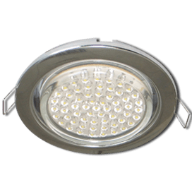 Ecola GX53 H4 Downlight without reflector_chrome (светильник) 38×106 — 10 pack
