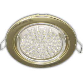 Ecola GX53 H4 Downlight without reflector_gold (светильник) 38×106 — 10 pack