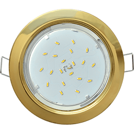 Ecola GX53 H4 Downlight without reflector_gold (светильник) 38×106